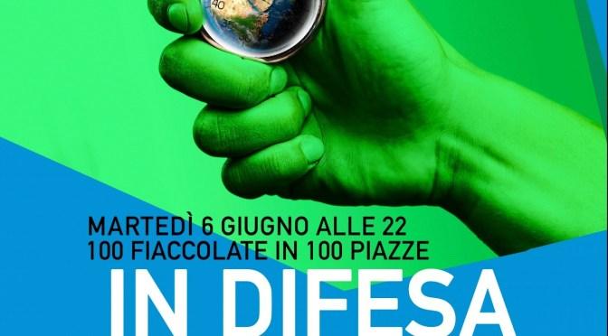 In difesa del futuro: martedì 6 giugno anche a Crema fiaccolata a sostegno dell'accordo sul clima di Parigi