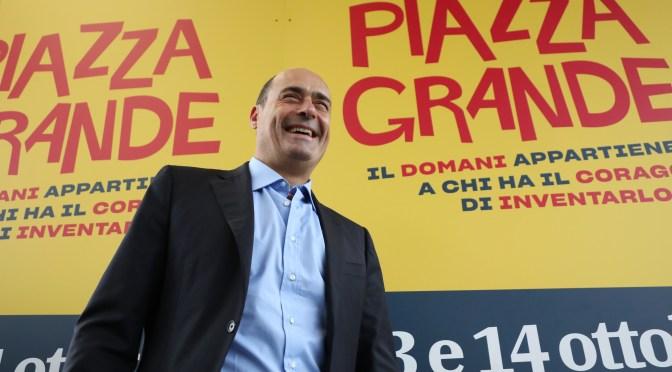 Primarie PD: l'appello del comitato Piazza Grande per Nicola Zingaretti