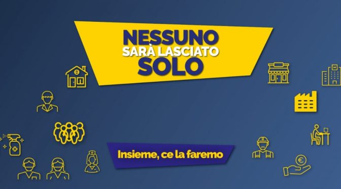 """Approvato il decreto """"Cura Italia"""": 25 miliardi per aiutare famiglie, lavoratori e imprese"""