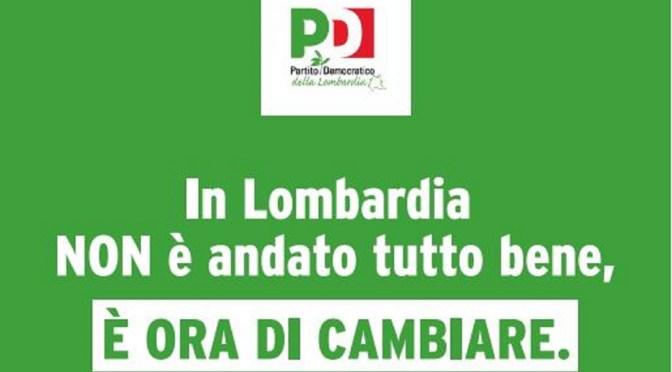 In Lombardia è ora di cambiare! Sabato 25 e domenica 26 luglio mobilitazione PD sul tema della sanità