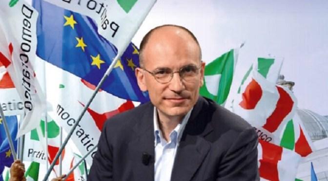 """""""Anima e cacciavite"""": le priorità di Letta per il Partito Democratico"""