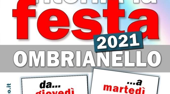 Ritorna la Festa de l'Unità a Crema: dal 26 al 31 agosto 2021 appuntamento a Ombrianello