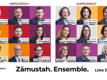 Faites plus ample connaissance  avec  nos candidates et candidats au Grand Conseil