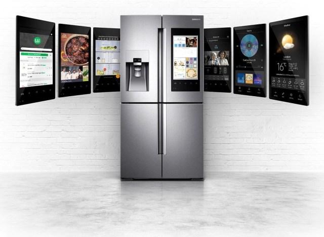Family Hub™ Multi-door Fridge Freezer digital health apps