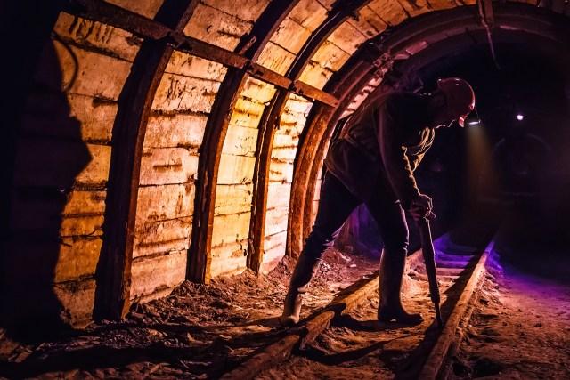 Image of coal miner