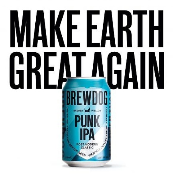 BrewDog Make Earth Great Again.