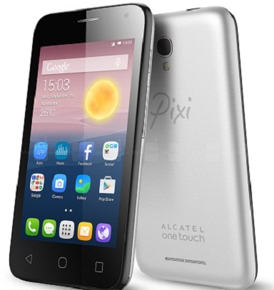 Alcatel OneTouch Pixi First Smartphone Full Specification