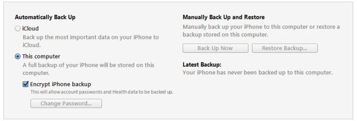 How to take Backup of an iPhone or iPad