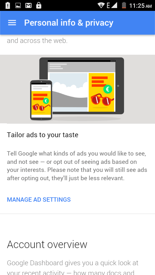 Opt Out of Interest-Based Ads to Get Less Creepy Ads
