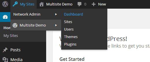 network-admin setup
