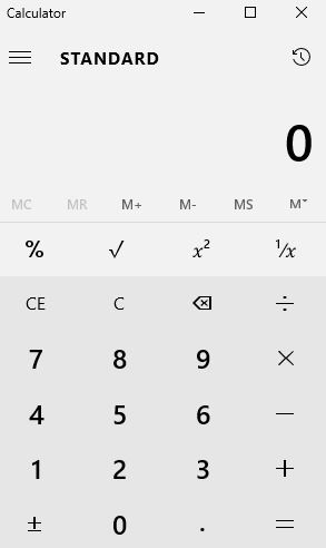 Gow to Use Calculator in Windows 10 as a Scientific, Programmer and as a Converter