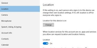 How to Disable Location History In Windows 10
