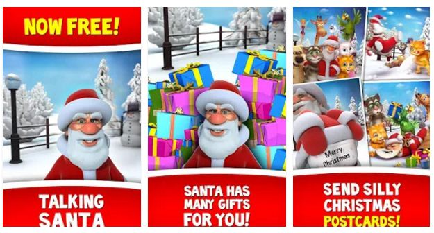 TALKING SANTA - Great game for iOS and Android
