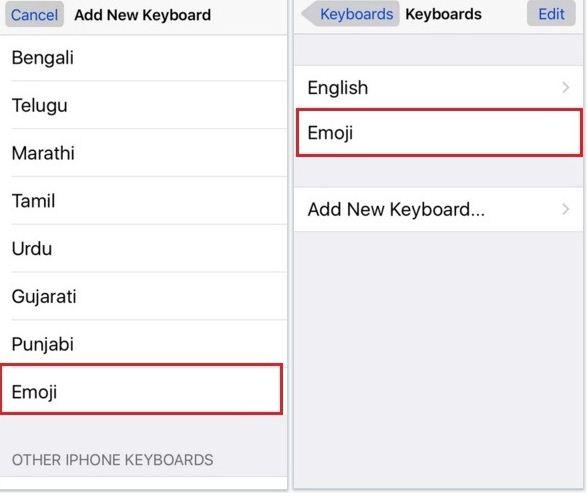 Add an Emoji Keyboard on Your iPhone,iPod