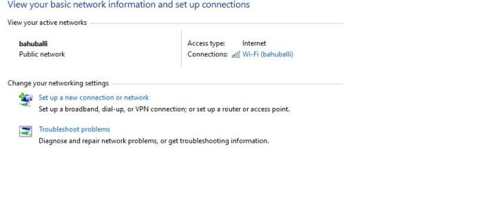 Create new dial-up connection in Windows 10 PC