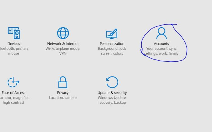 How to Assign a Picture Password in Windows 10