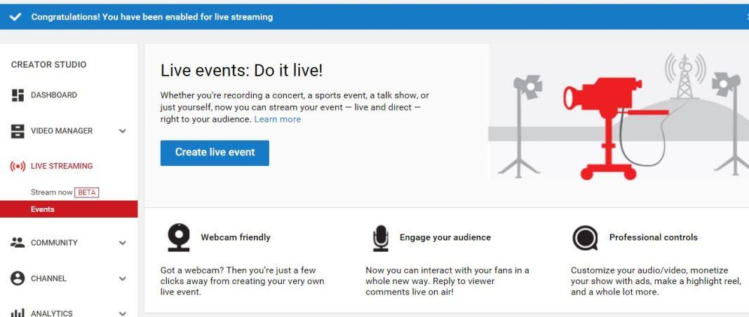 Youtube Dashboard Desktop – Totalproton