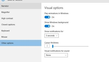 How to change increase and decrease the size of Cursor in Windows 10 PC