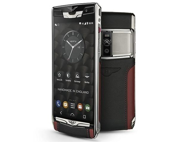 Vertu Signature Touch for Bentley Smartphone Full Specification