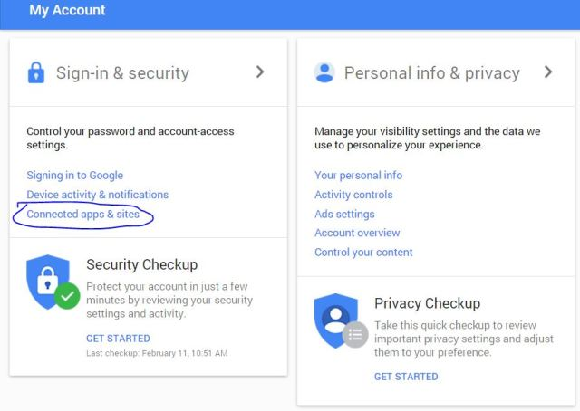 How to Manage Saved password of Google account