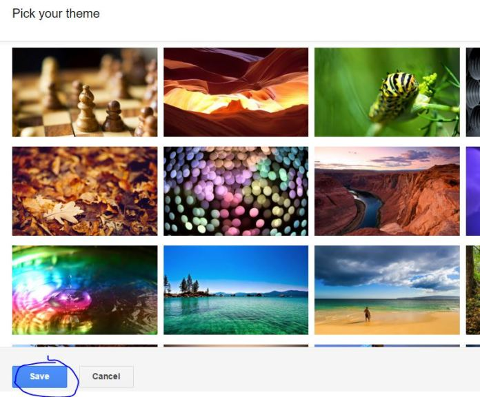 How to change default theme of gmail and choose best new one