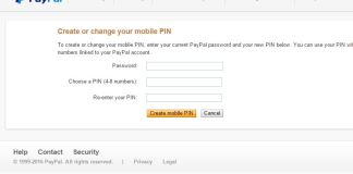 Increase the security of your PayPal accounts