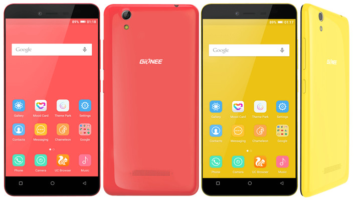 Gionee Pioneer P5L 2016 Specs, Features and Price in India