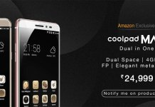 Coolpad Max Specs and Price in India