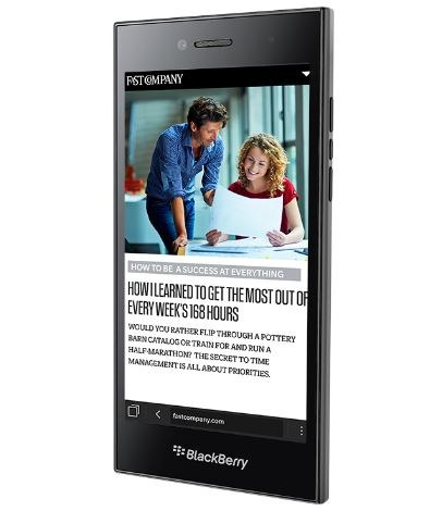 BlackBerry Leap Smartphone Full Specification