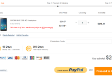 GearBest Now Accepts PayPal for Payment