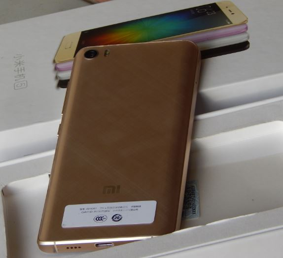 Xiaomi Mi 5 Body Back Design