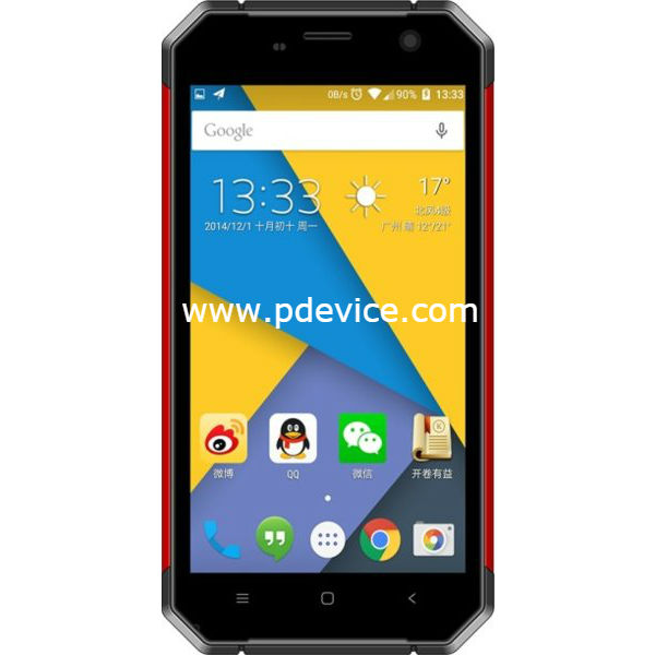 Nomu S30 Smartphone Full Specification