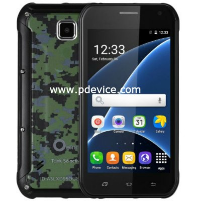 Oeina Tank S6 Smartphone Full Specification