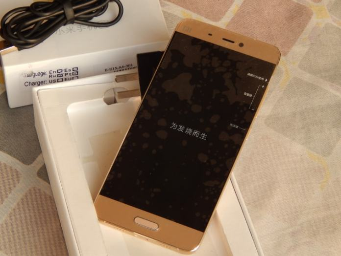 XIAOMI MI 5 REVIEW full body design photo