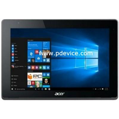 Acer Aspire Switch 10V Tablet Full Specification