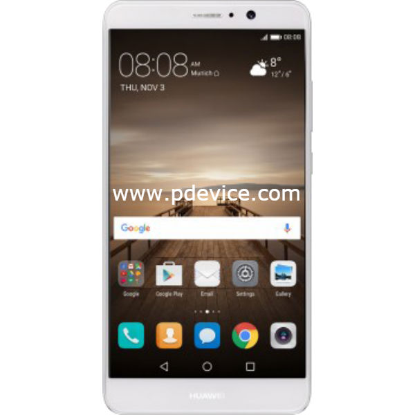 Huawei Mate 9 Smartphone Full Specification