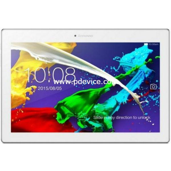 Lenovo Tab 2 A10-30F Tablet Full Specification