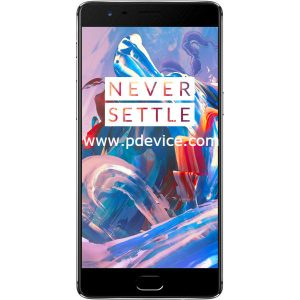 OnePlus 3T Smartphone Full Specification