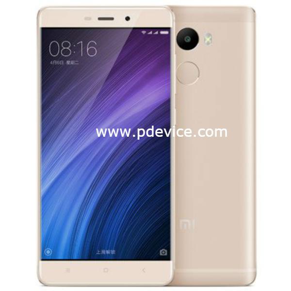 Xiaomi Redmi 4 Smartphone Full Specification