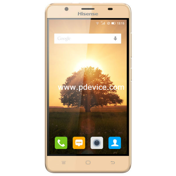 HiSense Infinity U989 Pro Smartphone Full Specification