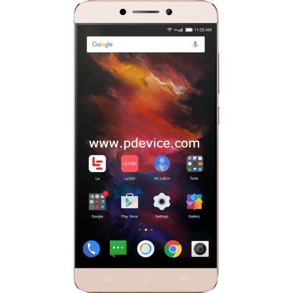 LeEco Le S3 Helio X20 Smartphone Full Specification
