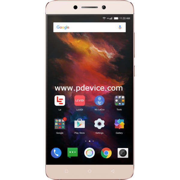 LeEco Le S3 Helio X20 Smartphone Full Specification