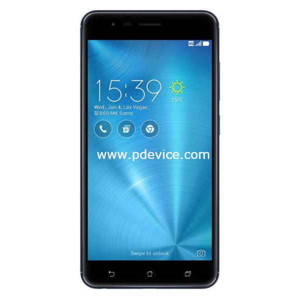 Asus ZenFone 3 Zoom Smartphone Full Specification