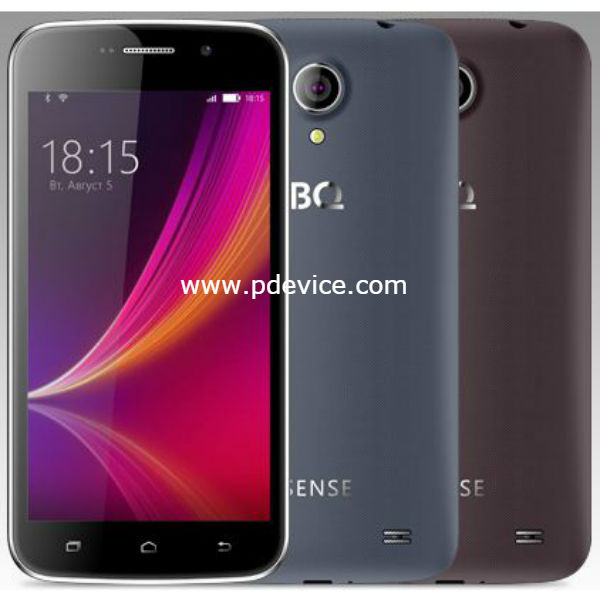 BQ Mobile BQ-5052 Sense Smartphone Full Specification