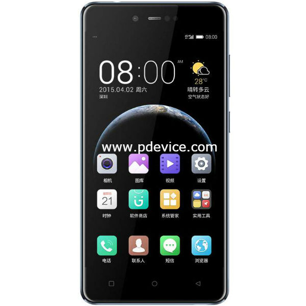 Gionee F106 Smartphone Full Specification