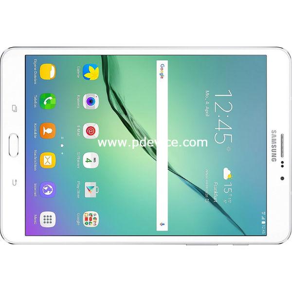 Samsung Galaxy Tab S2 2016 8.0 4G Tablet Full Specification