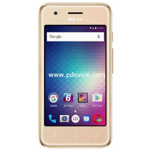 BLU Dash L3 Smartphone Full Specification