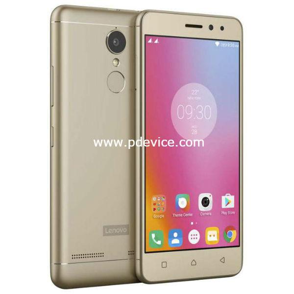 Lenovo K6 Power Smartphone Full Specification