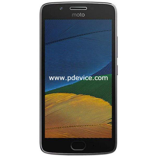 Motorola Moto G5 Smartphone Full Specification