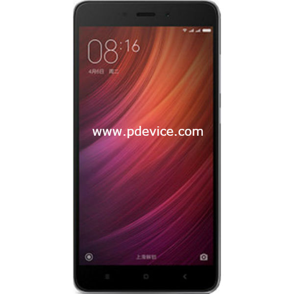 Xiaomi Redmi Note 4 Global Smartphone Full Specification